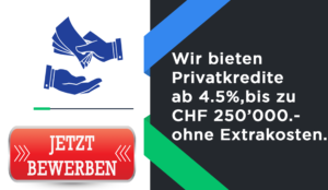 Privatkredite Zurich